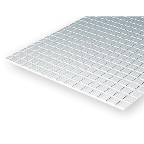 Evergreen 4501 Gehwegplatten, 1x150x300 mm, Raster 1,6 mm, 1 Stück