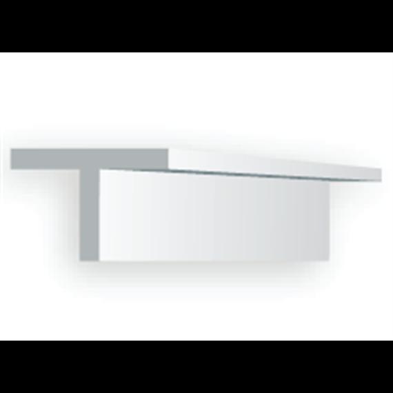 Evergreen 762 T-Profil, 35 mm lang, Höhe/Breite 1,4 mm, 4 Stück