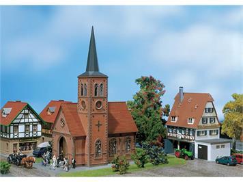 Faller 130239 Kleinstadt-Kirche Spur H0