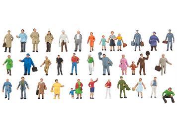 Faller 155358 Ergänzungs-Set mit 36 Figuren N