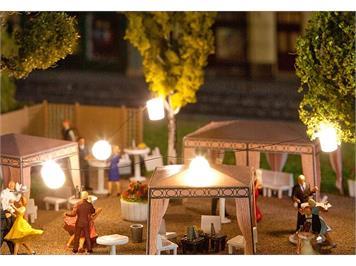 Faller 180663 Lichterkette mit Lampions