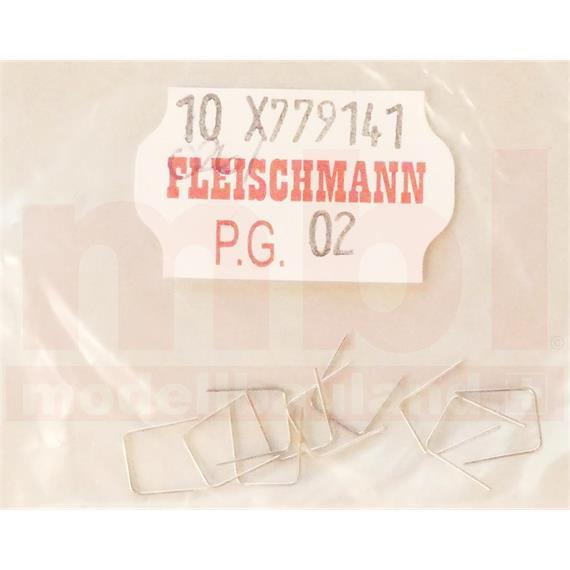 Fleischmann 779141 Drahtbrücke für N-Weichen, 10 Stück