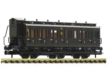 Fleischmann 807005 3-achsiger Abteilwagen 3. Klasse, DRG