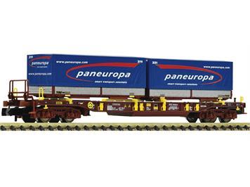 Fleischmann 825058 Taschenwagen paneuropa, Bauart Sdgmns 33, der AAE, N