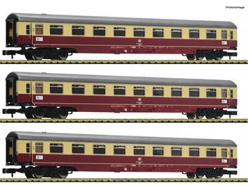 """Fleischmann 881911 3-tlg. Set 1: Autoreisezug """"Christoforus-Express"""", DB, N"""