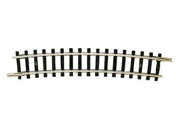 Fleischmann gebogenes Gleis R4 Radius 329,5 mm 15 ° N