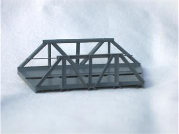 HACK 46050 Z Kurvenelement R=145mm, 22,5° RZA Fertigmodell aus Weissblech