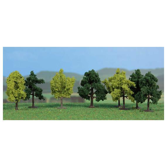 HEKI 1141 8 Laubbäume herbstlich 4 cm