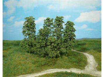 Heki 1642 12 Naturbäume dunkelgrün