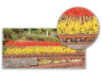 HEKI 1819 Grasbüschel XL gelb/rot