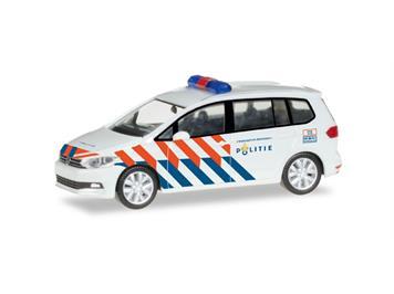 """Herpa 092388 VW Touran """"Polizei Groningen"""" NL"""