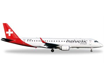 Herpa 557726 Embraer E190 Helvetic Airways 1:200
