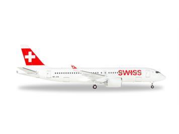 "Herpa 558952 CS300 Swiss International ""HB-JCB"" 1:200"