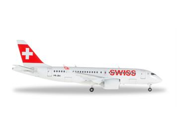Herpa 562522-001 CS100 Swiss International HB-JBA 1:400