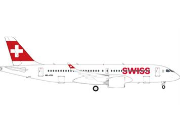 "Herpa 562614 CS300 Swiss International ""HB-JCB"" 1:400"