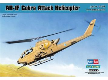 Hobby Boss 87224 Bell AH-1F Cobra