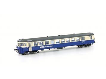 Hobbytrain 23940 Autoverladezug Steuerwagen BDt BLS, Ep.V, creme/blau