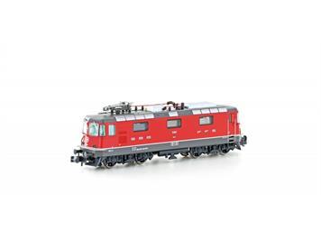 Hobbytrain H3028 E-Lok Re 4/4 II 11140 SBB rot, Ep.VI, Einholmstromabnehmer, N