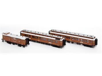 Hobbytrain H44014 CIWL Wien-Nizza-Cannes Express Set H0 3-teilig DC/Gleichstrom