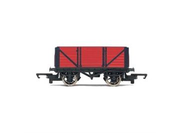 Hornby Red 7 Plank Open Wagon