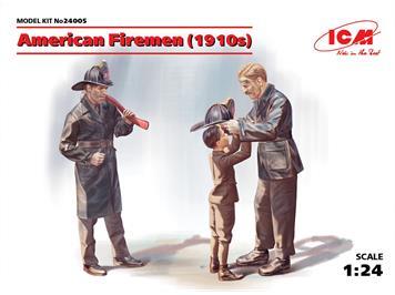 ICM 24005 American Firemen (1910) 1:24
