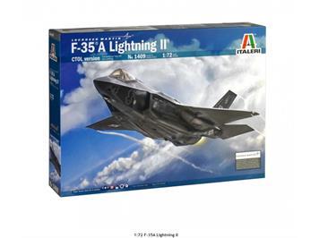 Italeri 1409 F-35 A Lightning II Lockheed Martin, Massstab 1:72