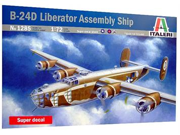 Italeri B-24D Liberator Assembly Ship 1:72