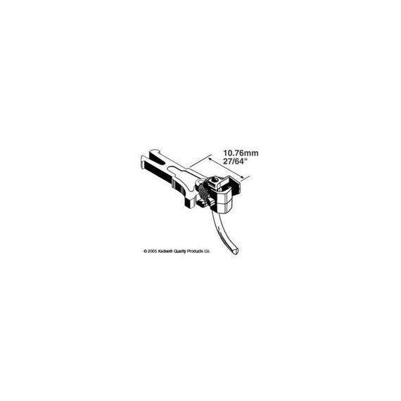 Kadee 402019 (380-19) Kupplung Nem 362 long 10.61 mm HO