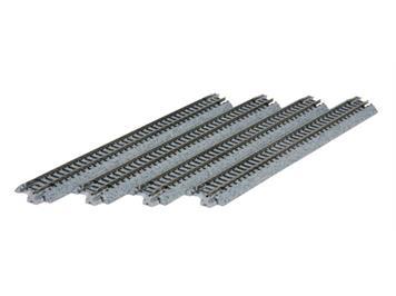 Kato 20-020 (78003) Gleis gerade 124mm (4 Stk.)