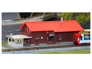 """Kato 23-245 RhB Bahnhof """"Filisur"""" (Fertigmodell) N"""