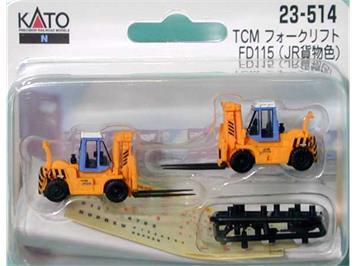 Kato 23-514 Gabelstapler TCM FD115 N