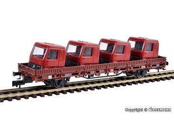 Kibri 26253 Niederbordwagen, Führerhäuser H0