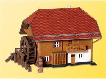 Kibri 38077 Alpenhof inkl. Etageninnenbeleuchtung, Funktionsbausatz, H0
