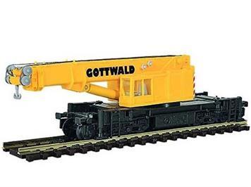 Kibri GOTTWALD Eisenbahn-Teleskopkran GS 100.06 T
