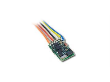 """Lenz 10310-02 Lokdecoder """"Silver mini+"""" 0,5/0,8A, mit SUSI-Interface und Kabel"""