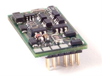 "Lenz 10312-01 Lokdecoder ""Silver +"" PluX-12, with plug NEM 653"