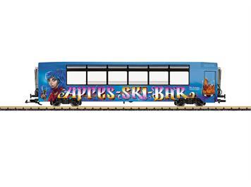 "LGB 33662 MGB Panoramawagen mit Bar, ""APRES-SKI-BAR"" Ski Arena Andermatt/Sedrun, G"