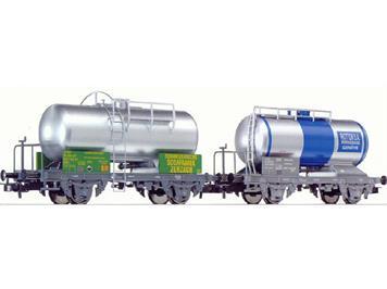 Liliput 240140 SBB 2 Tankwagen Soda + Riotton
