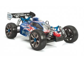 LRP 131322 S8 Rebel BX 2,4 GHz RTR 1:8 Verbrenner Buggy rot/blau - Limited Edition