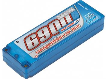LRP LiPo Competition Car Line Hardcase 6900 - 50C/100C - 7,4V