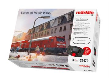 "Märklin 29479 Digital-Startset ""Regio-Express"""