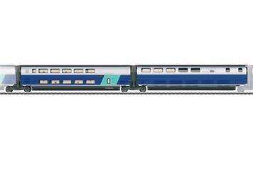 Märklin 43443 SNCF Ergänzungswagen-Set 3 zum TGV Eurodupl - NEUHEIT 2021 - Vorbestellpreis