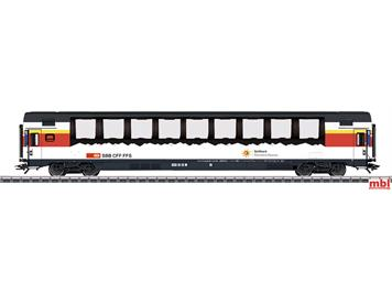 Märklin 43651-02 SBB Panoramawagen im InterCity-Design