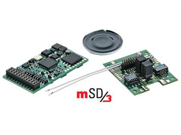 Märklin 60979 Sounddecoder mSD/3 für Start Up-Elektroloks