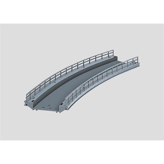Märklin 74623 Rampenstück gebogen 437mm für C-Gleis, H0 (1:87)