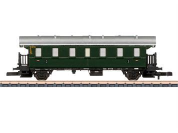 """Märklin 87501 Einheitspersonenwagen """"Donnerbüchse"""" 2./3. Klasse DB, Z"""