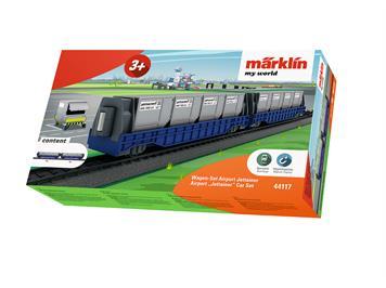 Märklin myWorld 44117 Jettainer Wagen-Set