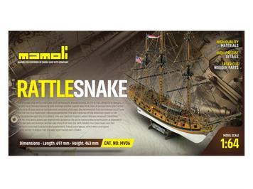 Mamoli 21736 Rattlesnake, Bausatz 1:64