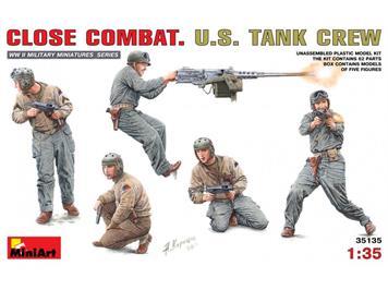 MiniArt 35135 Close Combat U.S. Tank Crew 1:35