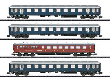 """Minitrix 15132 Schnellzugwagen-Set """"MERKUR"""""""